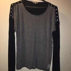 Burberry stripped top